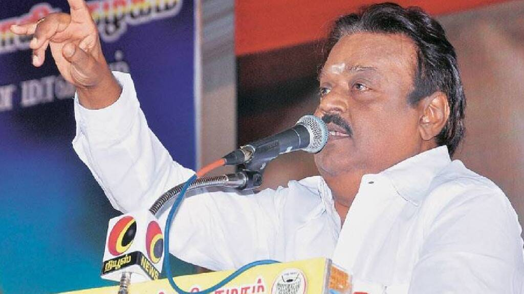 Tamilnadu assembly election 2021 DMDK leader vijayakanth starts his election campaign from today