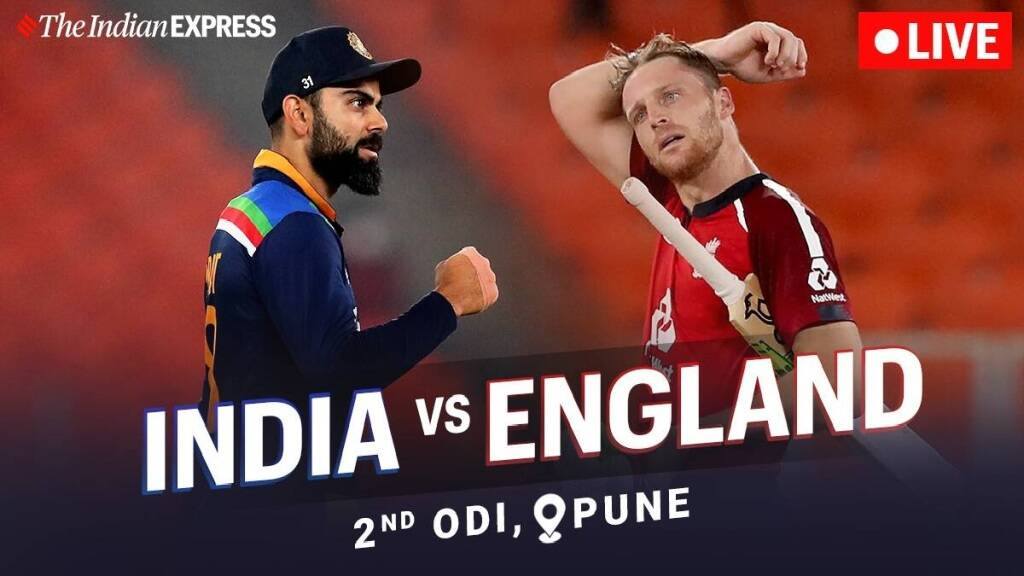 Cricket news in tamil India vs England 2nd odi score and match summery