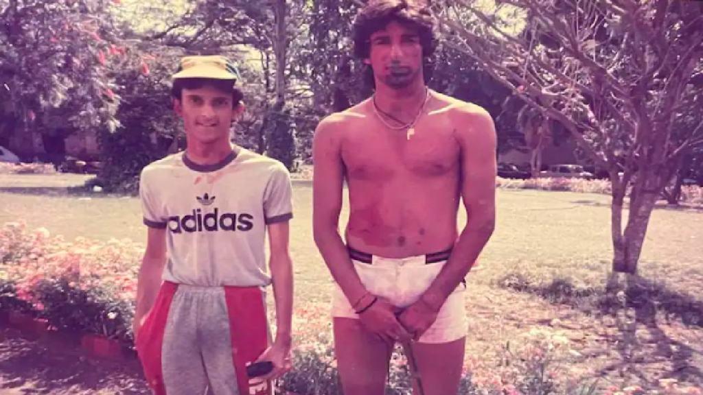Cricket news in tamil former Pakistan legend cricketer Wasim akram celebrating holi in india