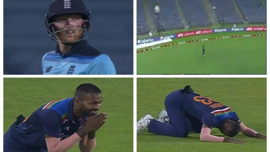 Cricket news tamil Hardik thanking Dhawan with folded hands video goes viral
