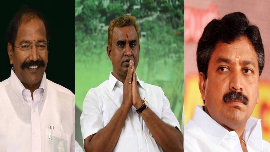Tamil Nadu Assembly Elections 2021 SP velumani P Thangamani and CV Shanmugam
