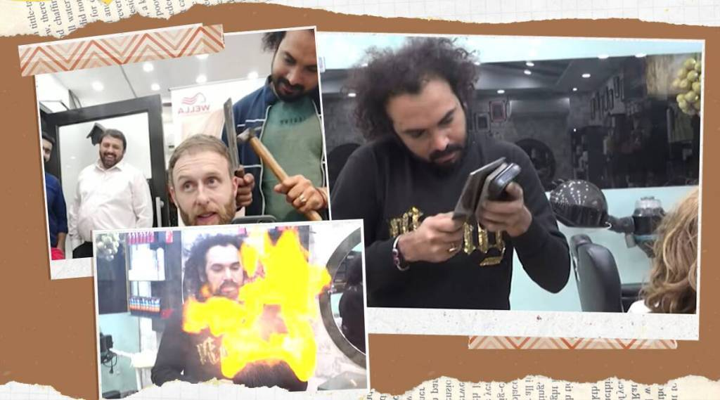 Lahore barber uses fire, hammer to style hair, video goes viral