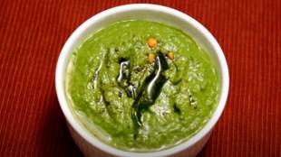 Coriander Chutney Kothamalli Chutney Recipe Tasty Chatni Tamil