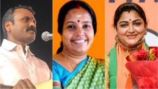 bjp, bjp candidates list, tamil nadu assembly elections 2021, பாஜக, பாஜக வேட்பாளர்கள் பட்டியல், குஷ்பூ ஆயிரம் விளக்கு தொகுதியில் போட்டி, வானதி சீனிவாசன் vs கமல்ஹாசன், l murugan contest in dhrapuram, kushboo contest in thousand light, vanathi srinivasan