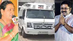 ammk provided special campaign vehicle, ttv dhinakaran providedm campaign vehicle, vijayakanth, பிரேமலதாவுக்கு பிரச்சார வாகனம், பிரேமலதாவுக்கு பிரச்சார வாகனம் வழங்கிய அமமுக, அமமுக, தேமுதிக, டிடிவி தினகரன், விஜயகாந்த், ttv dhinakaran, ammk, tamil nadu assembly elections 2021