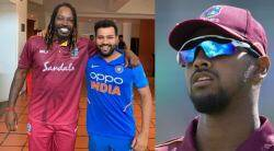Cricket news in tamil Rohit Sharma and Chris Gayle Who Can Score A Double-Century In A T20 Match says Nicholas Pooran