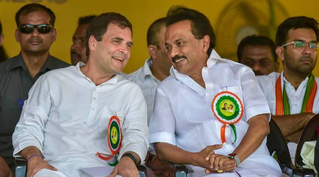 Rahul Gandhi , MK Stalin