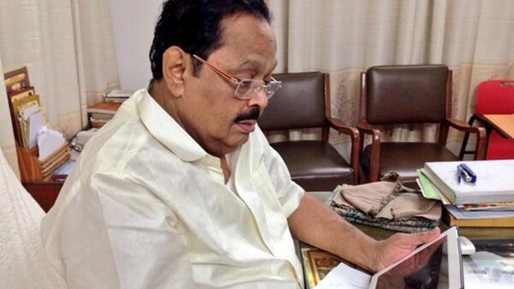 DMK general secretary Durai murugan tests covid19 positive