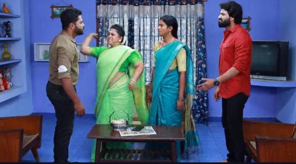 Vijay TV, Bharathi Kannamma Serial, Bharathi Kannamma Serial today episode, விஜய் டிவி, பாரதி கண்ணம்மா சீரியல், பாரதி கன்னத்தில் அறைந்த சௌந்தர்யா, பாரதி, கண்ணம்மா, பாரதி கண்ணம்மா சீரியல் இன்று, பாரதி கண்ணம்மா இன்றைய எபிசோடு, Soundharya slaps Bharathi, bharathi kannamma today episode, bharathi kannamma today,saundharya slapping bharathi, bharathi, kannamma