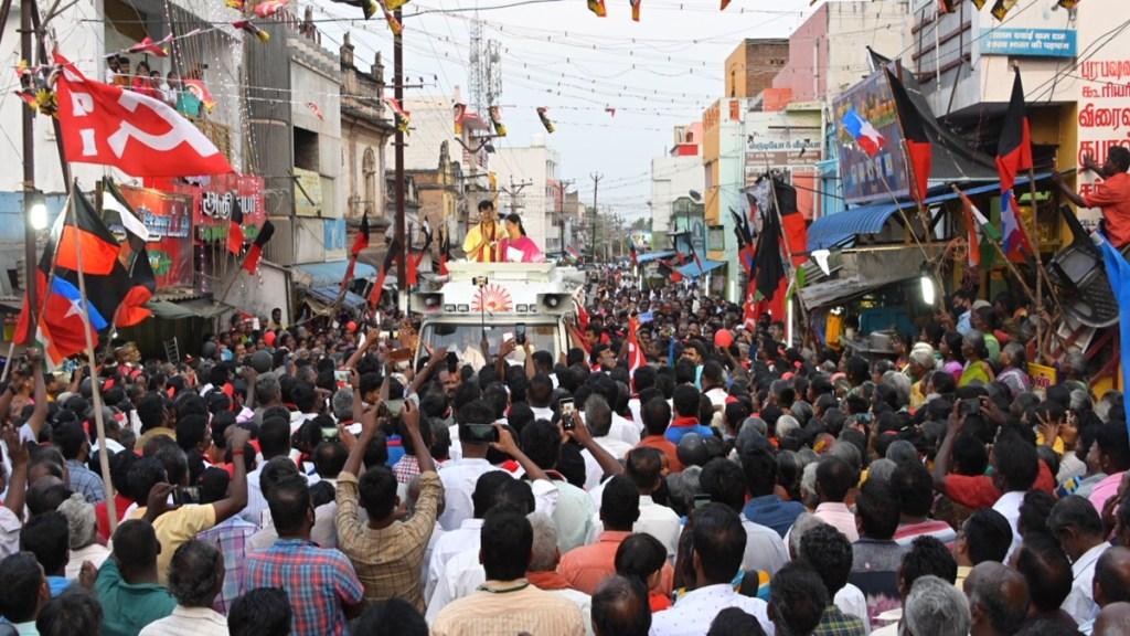 Tamil Nadu assembly elections 2021 Thanthi Opinion Poll results, Kanimozhi, DMK