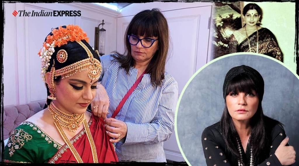 thalaivi, neeta lulla, costume designer neeta lulla, costume designer neeta lulla interview, தலைவி, ஜெயலலிதா, நீதா லுல்லா, கங்கனா ரனாவத், jayalalitha fashion, jayalalitha biopic, kangana ranauth, ஆடை வடிவமைப்பாளர் நீதா லுல்லா நேர்காணல்