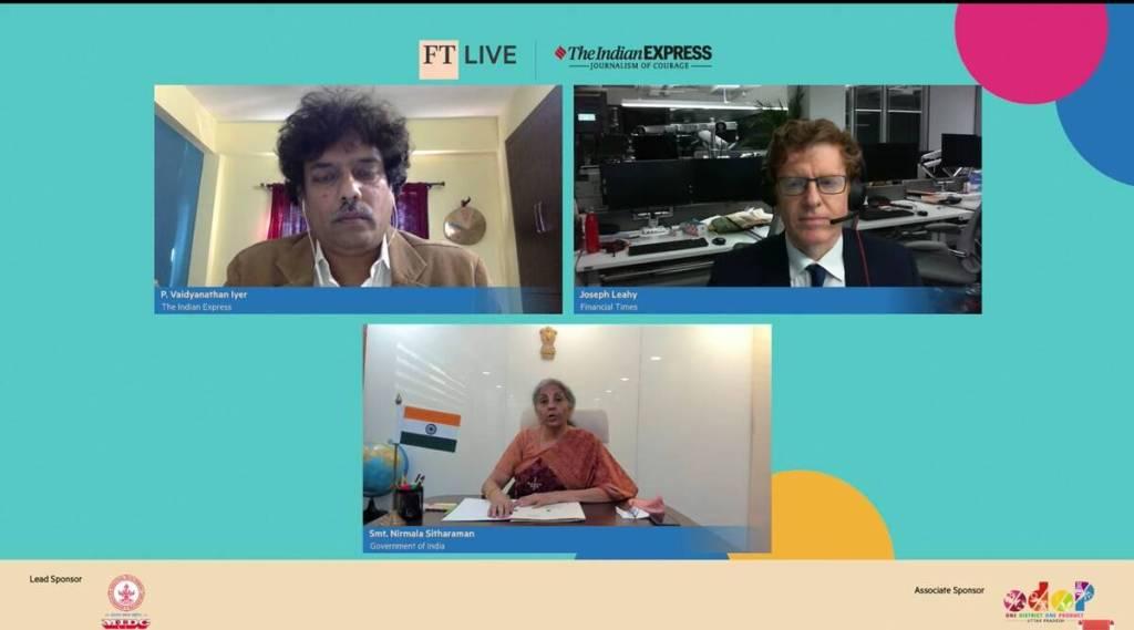 Second wave will not affect big reform push, says Nirmala Sitharaman