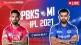 IPL 2021 live updates: PBKS vs MI live online
