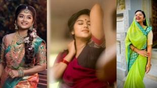 Chithi 2 Venba Preethi Sharma Saree Collection