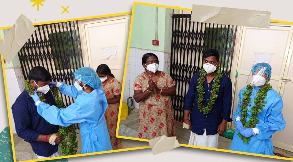 Hospital turns wedding venue for Covid positive patient in Kerala