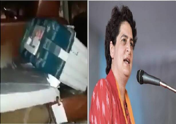 EVM found, BJP Candidate Car, Assam Election, Assam Second Poll, Patharkandi, Priyanka Gandhi