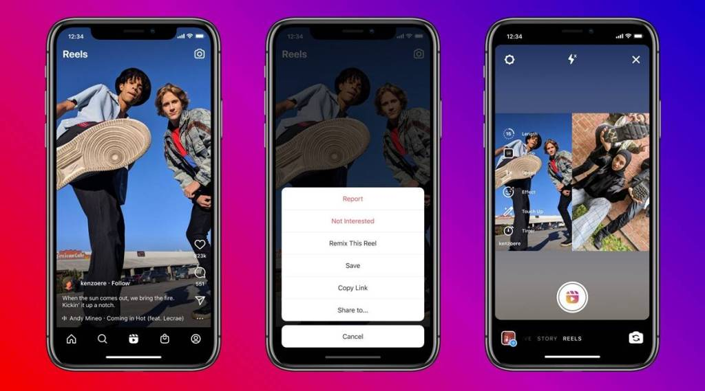Instagram tiktok like reels remix duet feature how to use enable disable Tamil News