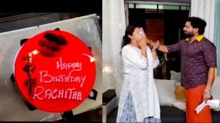 Tamil serial news: Serial actress Rachitha Mahalakshmi celebrates her birthday in naam iruvar namakku iruvar sets