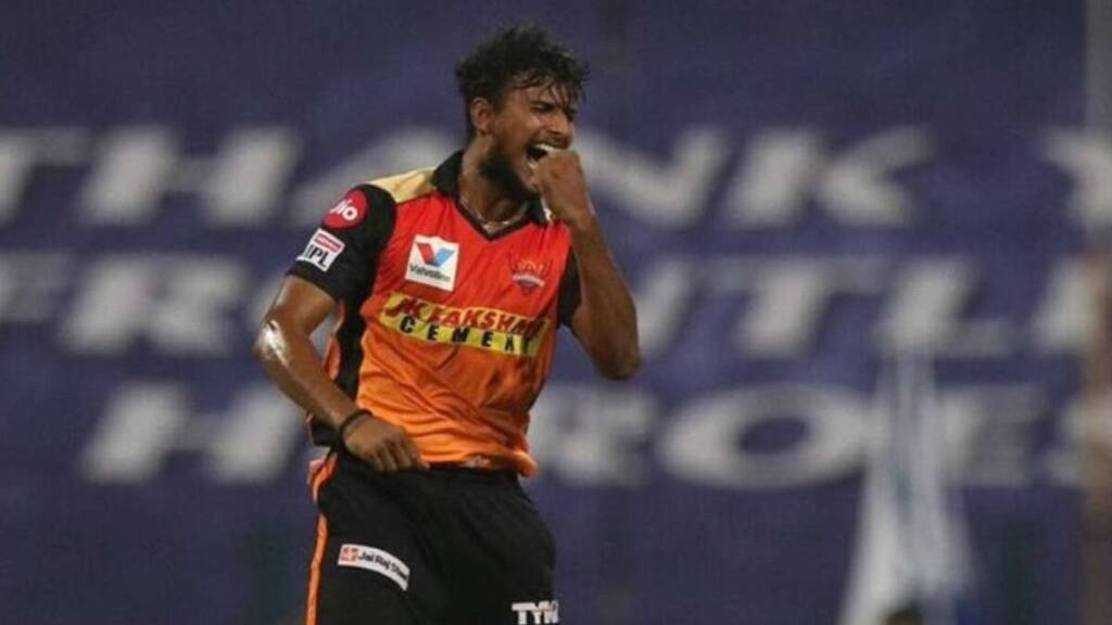 IPL 2021 Tamil News: SRH Pacer Natarajan ruled out of tournament
