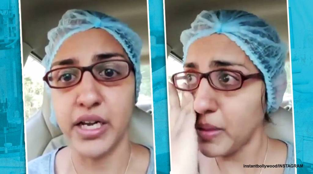 mumbai doctor emotional viral video, doctor covid appeal, dr Trupti Giladi, mumbai doctor helpless video, viral videos, indian express