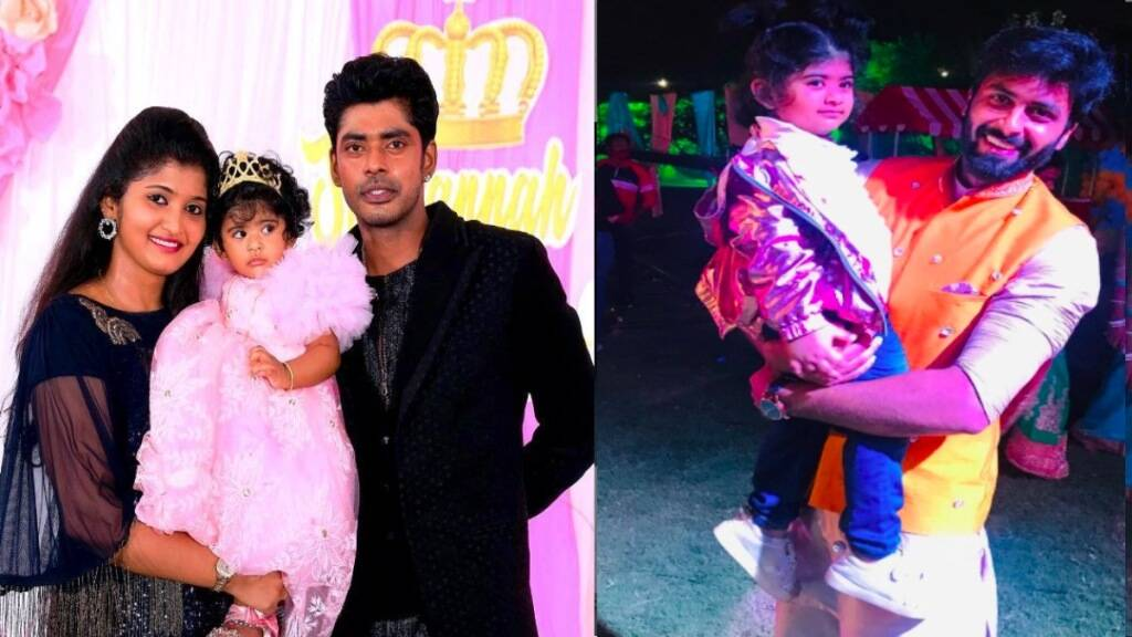Tamil cinema news in tamil: dance master sandy daughter Lala with cook with comali Ashwin viral photo