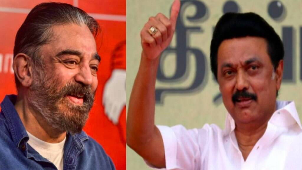 Tamilnadu assembly election 2021 : mk Stalin and kamalhassan comments on casting vote