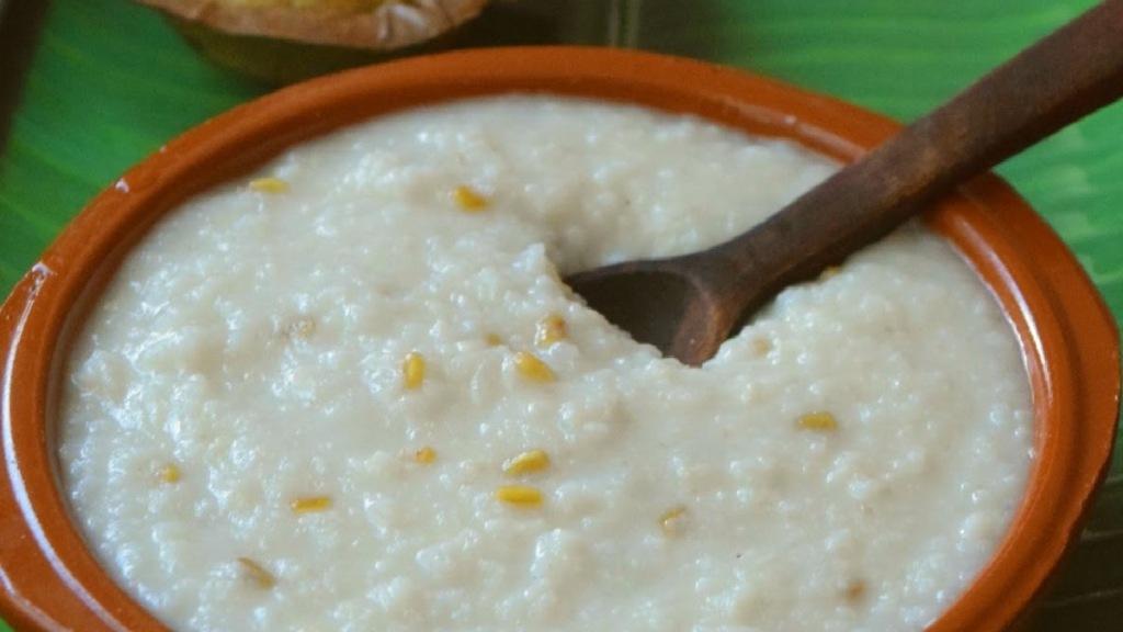 Healthy food Tamil News: how to make vendhaya kanji recipe in tamil