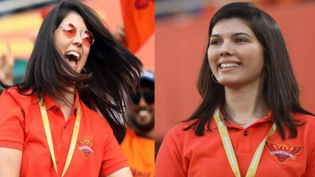 IPL 2021 Tamil News: SRH CEO Kavyajumping up in joy supporting her team