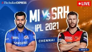 IPL 2021 live updates: MI vs SRH live