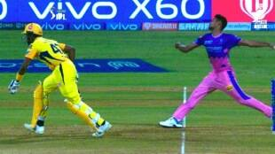 IPL 2021 Tamil News: Dwayne Bravo was caught taking undue advantage from the non-striker's end goes viral