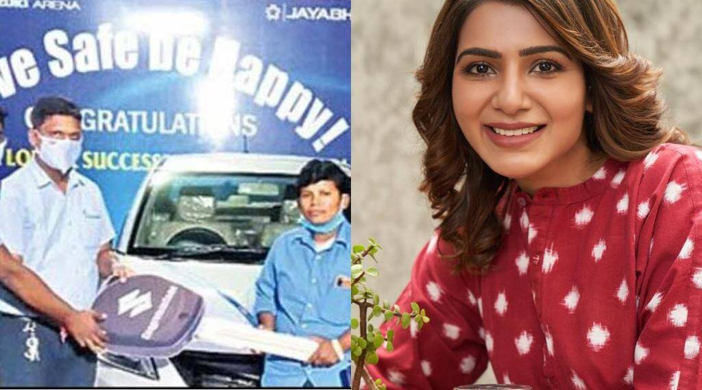 samantha gifted a car, samantha gifted a for very poor auto driving girl, சமந்தா, நடிகை சமந்தா, 7 சகோதரிகளை ஆட்டோ ஓட்டி காப்பாற்றும் பெண்ணுக்கு கார் பரிசு, கார் பரிசளித்த நடிகை சமந்தா, actress samantha, samantha akkineni, samantha
