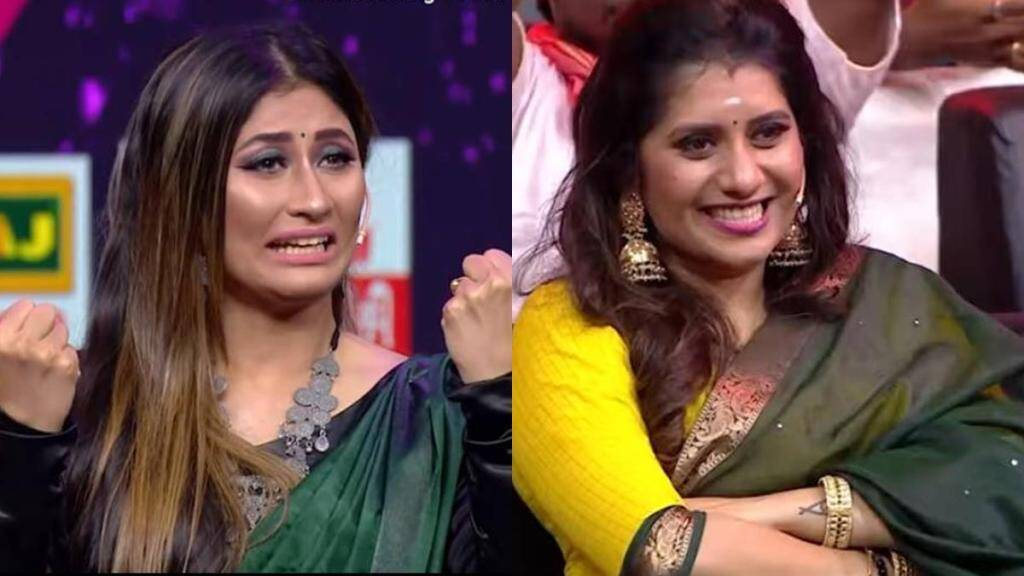 vijay tv, cook with comali, sunitha shares her victory, விஜய் டிவி, குக் வித் கோமாளி, சுனிதா, பிரியங்கா, cooku with comali sunitha shares with tears and happy, priyangka appreciated, varuthappadatha vaalipar sangam