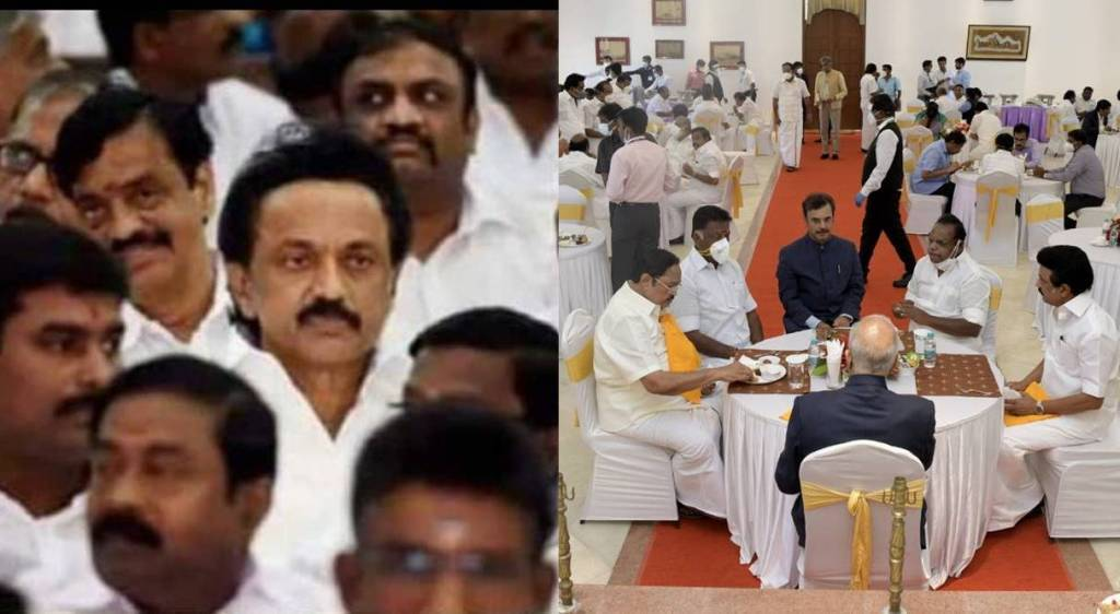 How opposition leaders treated in 2016 and 2021 oath taking ceremony in Tamil Nadu