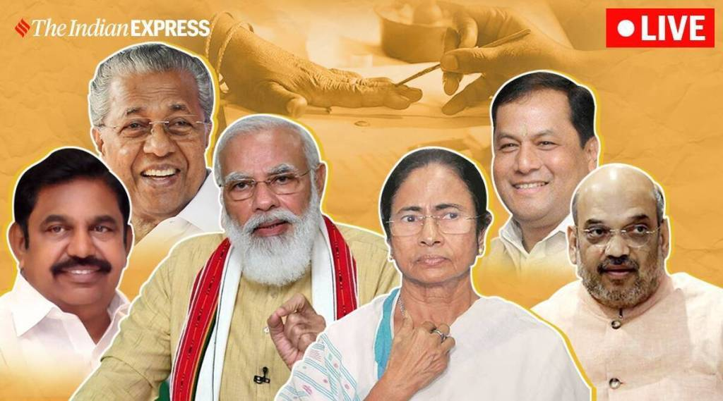 TN, Kerala, Assam, Puducherry, WB Assembly Election Results 2021 Live