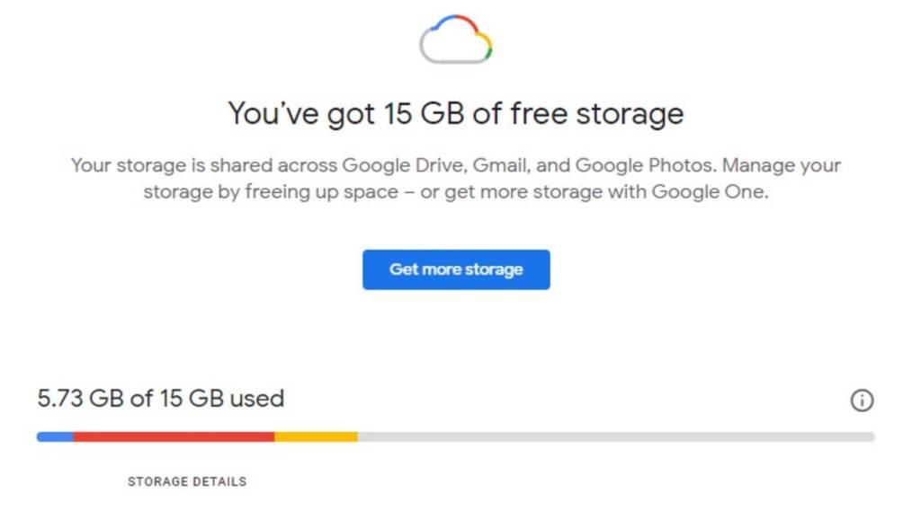 How to free up 15gb free google storage across gmail drive photos Tamil News