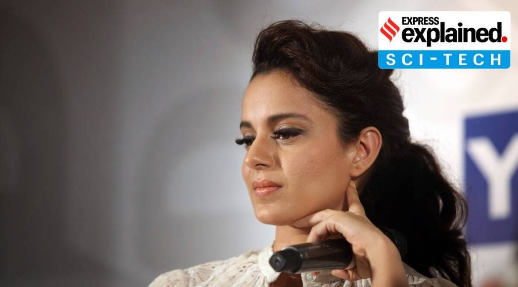When does Twitter permanently suspend an account, like it has done with Kangana Ranaut?