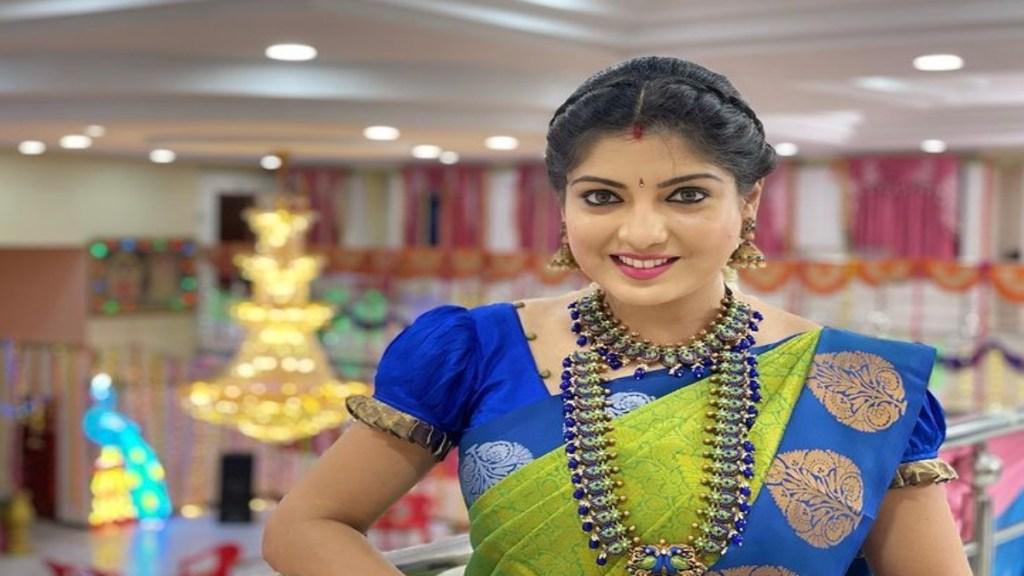 Pandavar Illam Kayal Papri Ghosh Saree Collection Lifestyle Tamil