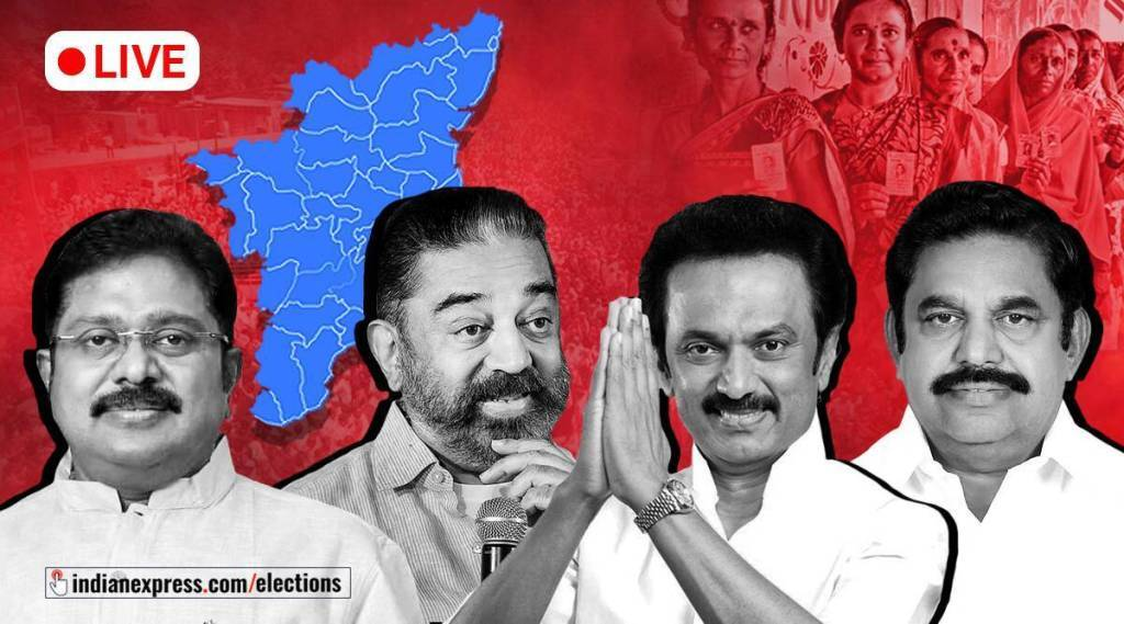 Tamilnadu assembly election 2021: party wise vote percentage in tamil