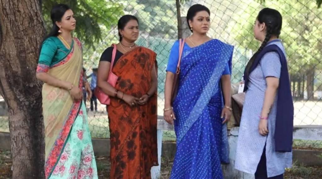baakiyalakshmi, baakiyalakshmi serial, iniya asks mom please cook with tasty, பாக்கியலட்சுமி, ஜெனிஃபர், இனியா, செல்வி, சாந்தி, jeniffer, selvi, iniya, chezhiyan, bakya, tamil tv serial news, vijay tv, baakiyalakshmi today episode