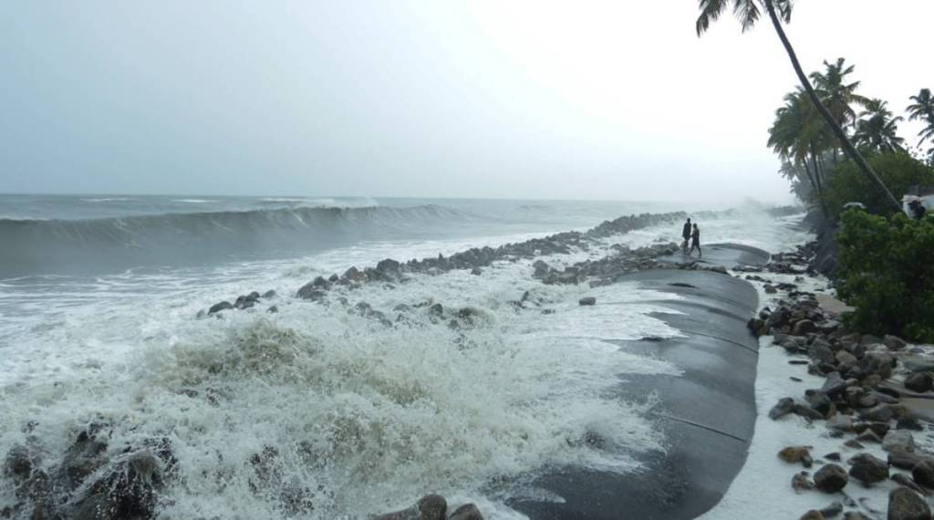 Trending Viral Photos of Sea incursion in Chellanam, Ernakulam, Kerala
