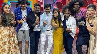 cook with comali, VJ Rakshan, Shivangi, VJ Rakshan Shivangi photos goes viral, குக் வித் கோமாளி, ரக்ஷன், ஷிவாங்கி, ரக்ஷன் ஷிவாங்கி புகைப்படம் வைரல், அண்ணன் தங்கையாக ரச்ஷன் ஷிவாங்கி, Rakshan Shivangi take photo as brother and sister bonding, rakshan photos goes viral
