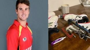 Cricket news in tamil: Zimbabwe cricket player Ryan burl gets PUMA sponsor after his tweet gone viral