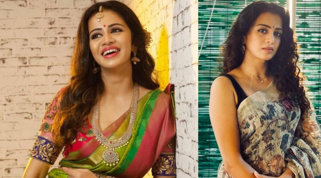 Tamil cinema Tamil News: VJ Anjana husband Chandran tweets about his wife receiving vulgar messages in social pages