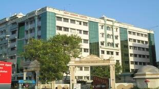 Tamil Nadu covid 19 cases Tamil News: Rajiv Gandhi Government General Hospital get more beds as covid cases decline