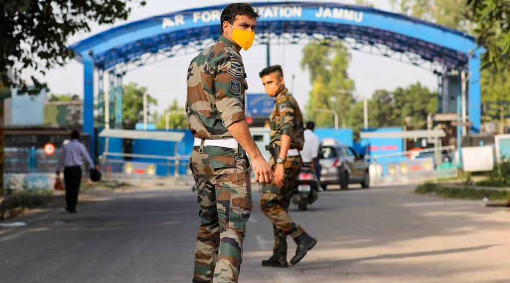 Indian Air Force base in Jammu