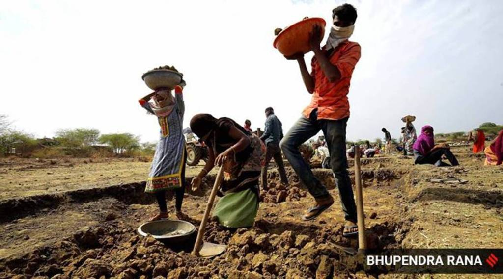 Covid in villages mnregs demand sees sharp fall in may from year before Tamil News