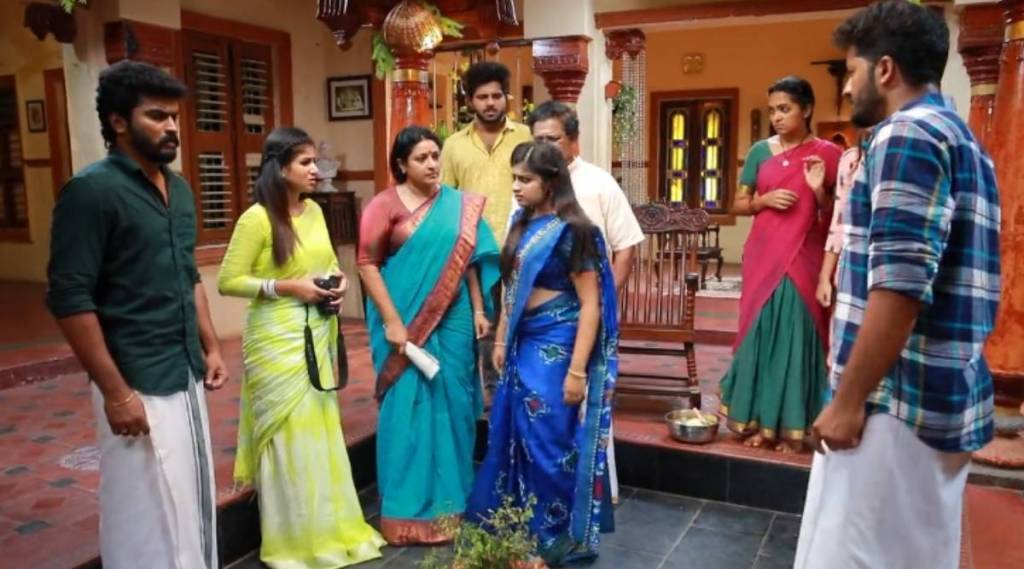 raja rani 2, raja rani 2 serial, vijay tv, sandhya, saravanan, archana, archana steal necklace, ராஜா ராணி 2, ராஜா ராணி 2 சீரியல், விஜய் டிவி, நகை திருட்டில் அம்பலப்பட்ட அர்ச்சனா, சரவணன், சந்தியா, saravanan produce video evidence, raja rani 2 archana shame, sivagami shouting archana, unexpected twist in raja rani 2 serial