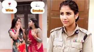 raja rani 2 serial, raja rani 2 actress alya manasa, alya manasa, ராஜா ராணி 2, ஆல்யா மானசா, ஆல்யா மனசா வீடியோ, புகையா மதுவா, வைரல் வீடியோ, alya manasa which choose wine or smoke video, alya manasa instagram, alya manasa reel video, alya manasa