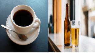 cofee alcohol