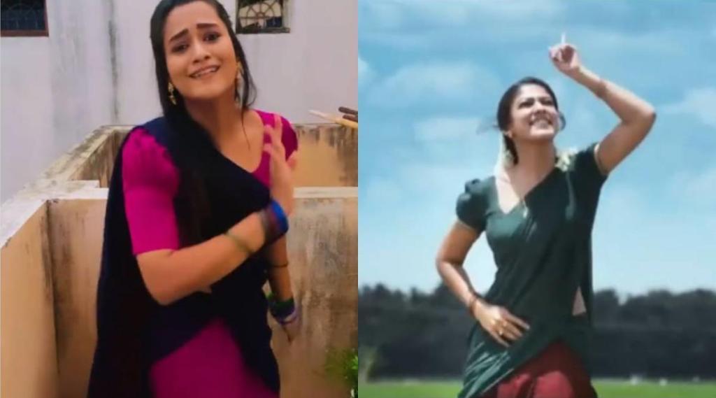 pandian stores actress kavya arivumani, kavya arivumani dance, kavya arivumani video, fans comments kavya arivumani dancing like Nayanthara, பாண்டியன் ஸ்டோர்ஸ், நடிகை காவ்யா அறிவுமணி, காவ்யா அறிவுமணி, நயன்தாரா போல இருப்பதாக ரசிகர்கள் கம்மெண்ட், Nayanthara, kavya arivumani instagaram